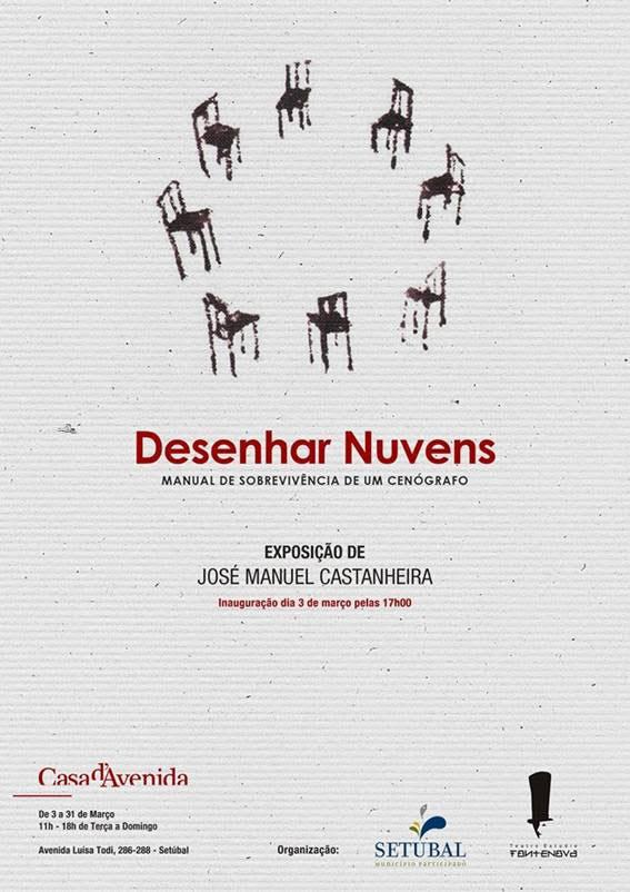 Casa da Avenida - 3 março | Inauguração exposição de José Manuel Castanheira